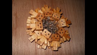 Cara Pembuatan Gantungan Kunci Danbo Dari Kayu