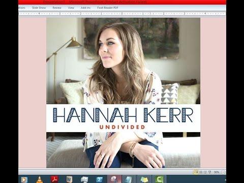 Hannah Kerr - Undivided (Lyrics)