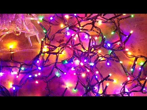 Poundland LED fairy lights versus cheap ebay ones.