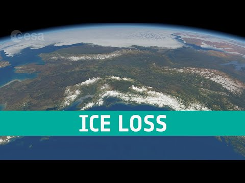 CryoSat reveals ice loss from glaciers in Alaska and Asia