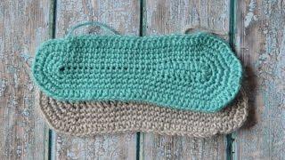 Crochet Slipper Sole