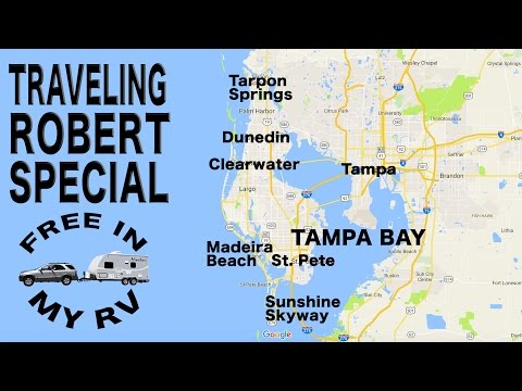 Tampa Bay Road Trip (Complete Video) - Traveling Robert