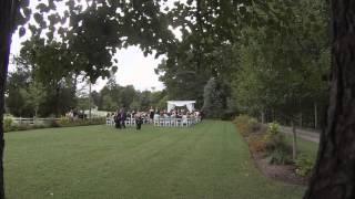 Robert and Kim's Wedding at Dewberry Farm Kernersville NC