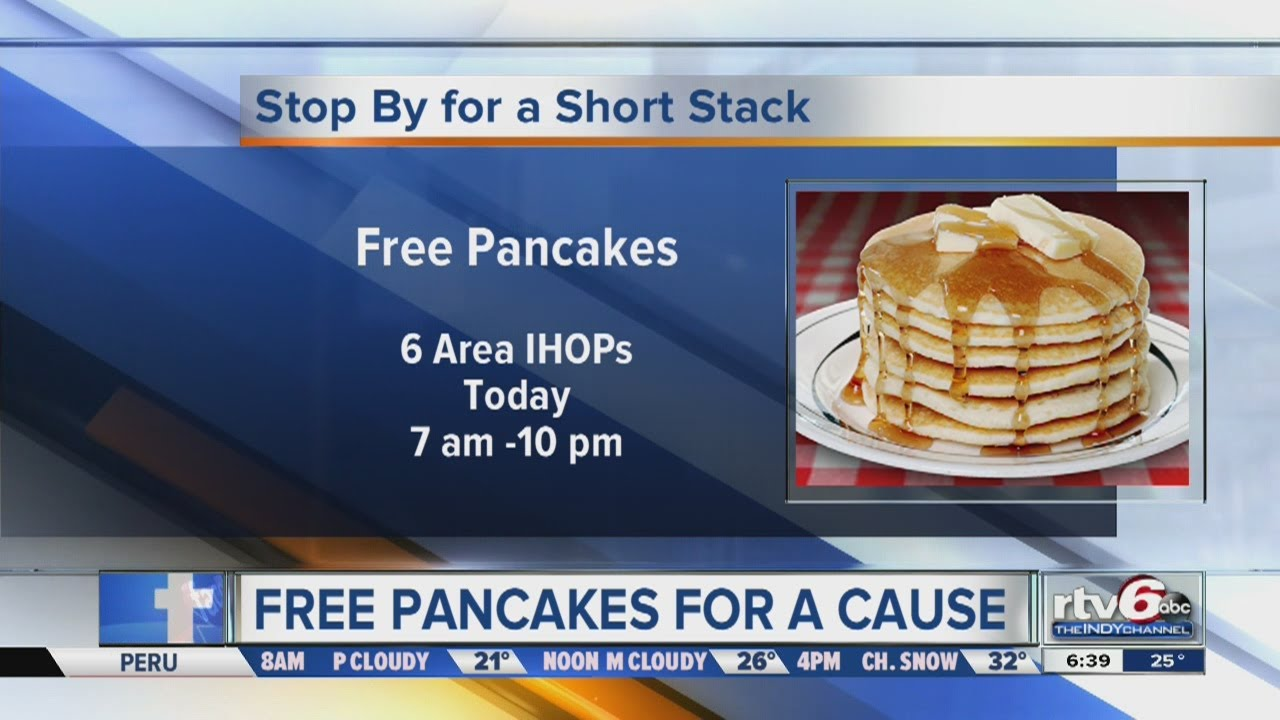 IHOP gives away free pancakes to benefit Riley kids