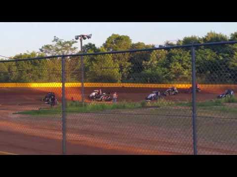 Ryan Quackenbush Hamlin speedway Aug. 6,  2016