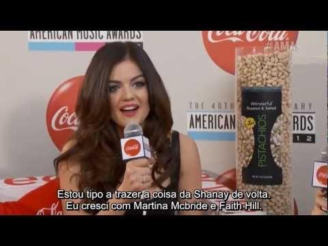 Lucy Hale AMAs 2012 Red Carpet   Legenda PT