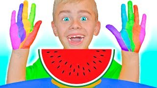 Johny Johny Yes Papa Eating Fruits / Nursery Rhymes Song for kids by Tamiki Amiki