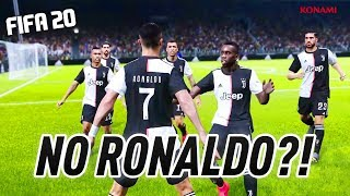 OFFICIAL!! RONALDO & JUVENTUS WILL NOT BE IN FIFA 20 !?!