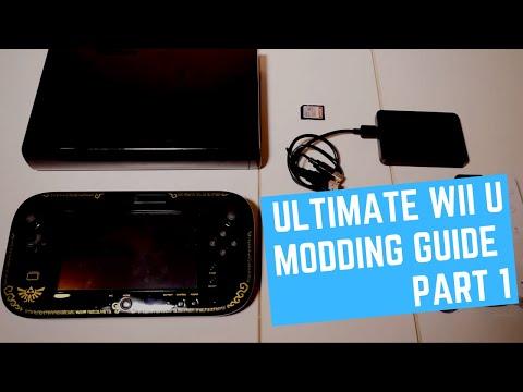 Ultimate Wii U Modding Guide 2019 - Part 1