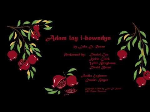 Adam lay i bowndyn ROSEN