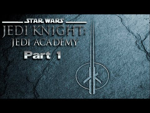 Star Wars Jedi Knight: Jedi Academy Walkthrough - part 1 - Yavin Jungle - No Commentary |