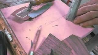 Restoring An Antique Simon Willard Clock - Part 7 Of 10 - Veneer Banding