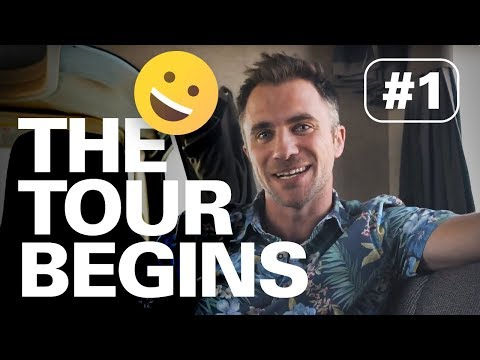 THE TOUR BEGINS! | HERE TO HEAR TOUR #1