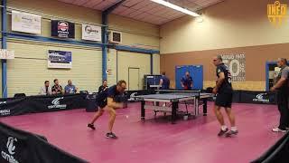 LA FERRIERE vs BIARRITZ GOELANDS / NATIONALE 2 /TENNIS DE TABLE / HIGHLIGHTS