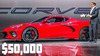 MEET THE $50,000+ MID-ENGINE C8 CORVETTE! (0-60 in less than 3 seconds)