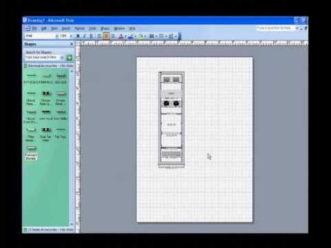 How To Use Series Visio Shapes