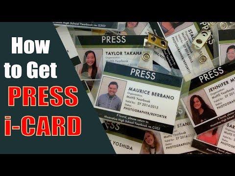 How can i get Press I Card? Press Card ese banta hai