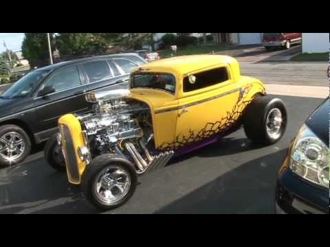 Blown 32 ford 3 window coupe