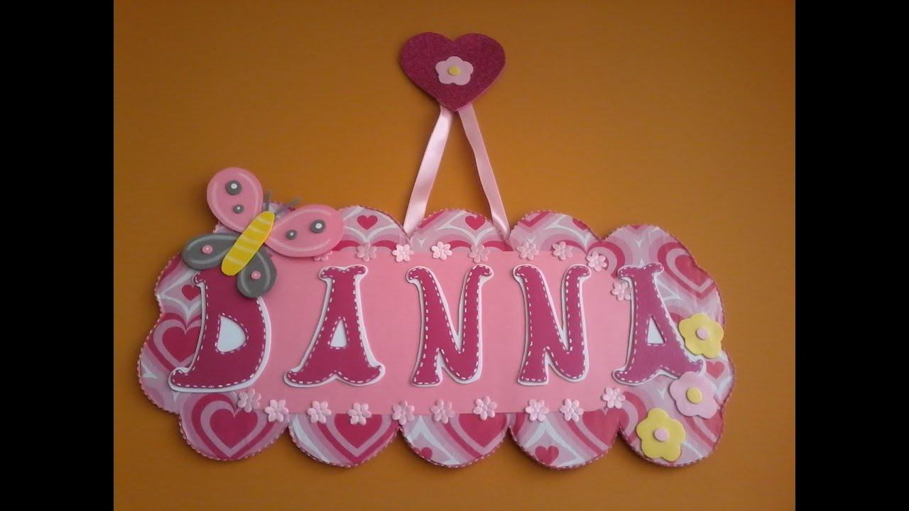 Como Decorar Letras De Madera Para Bebes