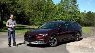 Buick Regal TourX 2018| Full Review | with Steve Hammes