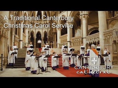 A Traditional Canterbury Christmas Carol Service - Christmas Eve, 2020 | Canterbury Cathedral