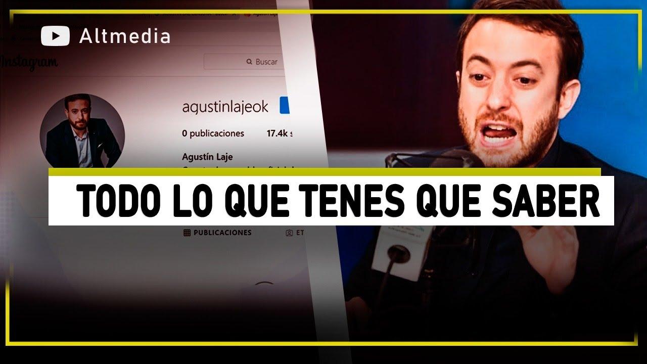 Instagram censura a Agustín Laje: todo lo que tenés que saber