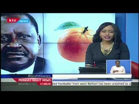 Monday Night News Full Bulletin with Sophia Wanuna 31st October 2016
