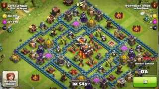 Clash of Clans - Dragons high level raids in Champion league