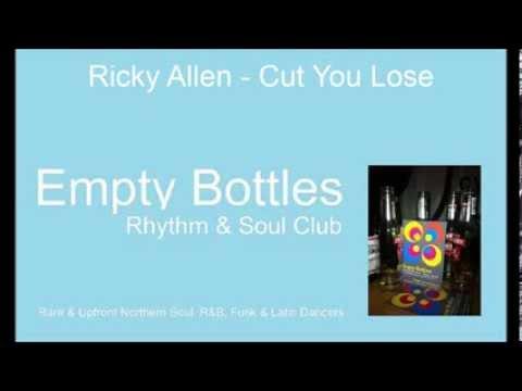 RICKY ALLEN CUT YOU A-LOOSE R&B ORIGINAL 1963 'MOD
