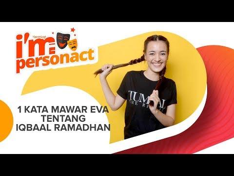 Mawar De Jongh Tirukan Gaya Iqbaal Ramadhan