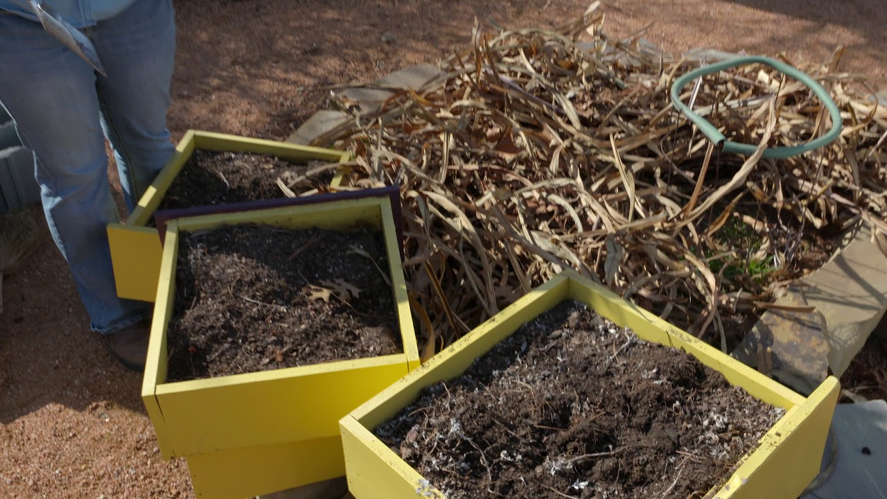 Renovating a Keyhole Garden - YouTube