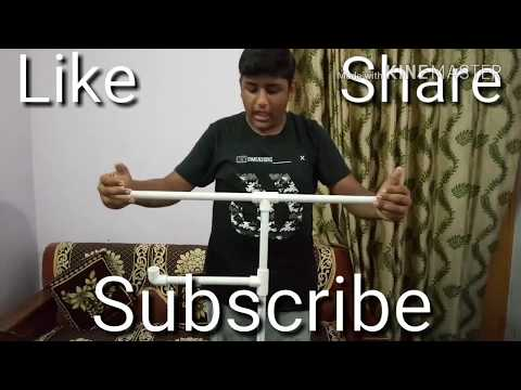 How to make Bird Perch/Stand || Parrot Training
