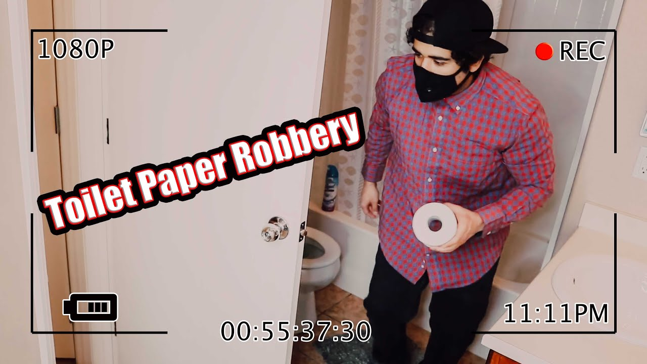 The Great Toilet Paper Robbery!
