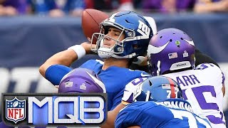 Daniel Jones challenged by Vikings' defense plus a big win for Aaron Rodgers | NFL Monday QB