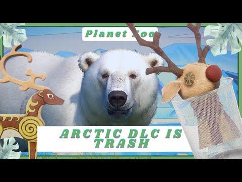 THE ARCTIC DLC IS TRASH! Let's Fix It! - Planet Zoo |