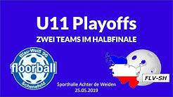 U11 Playoffs 2018/19 | BW96 Schenefeld Floorball | FLV-SH