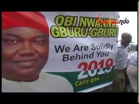 ENUGU TRADERS LOVE GOVERNOR IFEANYI UGWUANYI, GOVERNOR ENUGU STATE
