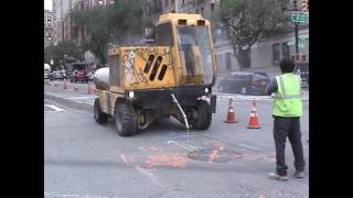 LinkNYC Spy Kiosk Excavation for Power and Signal