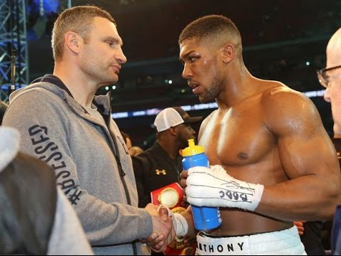 "Anthony Joshua on Vitali Klitschko after Fight ""I'm From The Streets"""