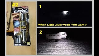 Energizer Performance LED Flashlight vs. the AS SEEN ON TV type stuff
