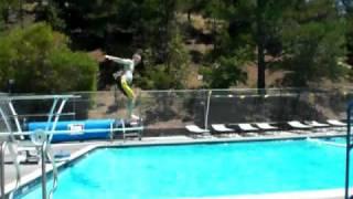 Full Gainer Dive - Jason Lane