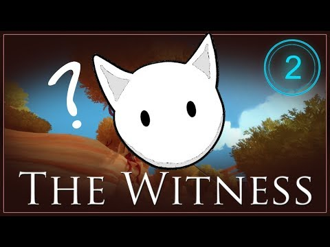 Kitty Plays The Witness: Gameplay #2 - The Pottery Studio & A Laser!