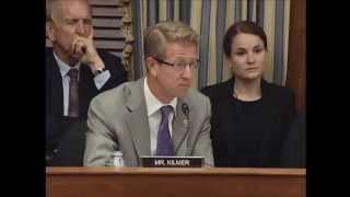 Representative Derek Kilmer (D-WA) - Questions to the Witness Panel 9/10/2014