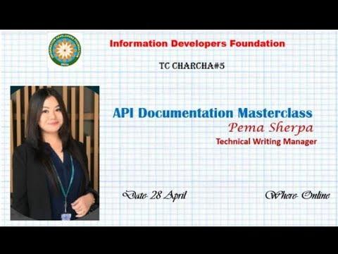 API Documentation Masterclass- Pema Sherpa