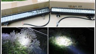 CREE Vs OSRAM LED Light Bar Comparison