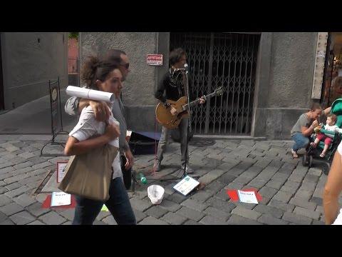 The Rolling Stones - Streets Of Love (cover, Festival degli Artisti di Strada 2014 - Aosta)