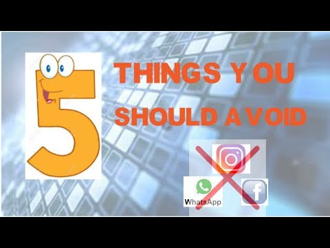CDAC - 5 things you should avoid during CDAC