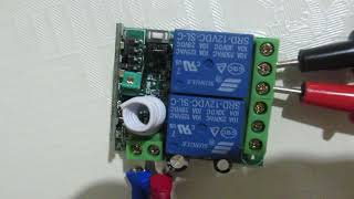 12V DC 2 channel remote relay kaige instructions