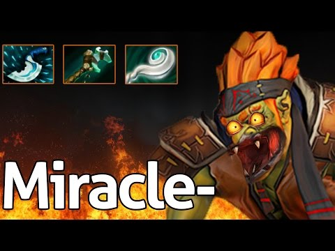 Miracle- Dota 2 : Guide - Profession Batrider - Counter Invoker Mid