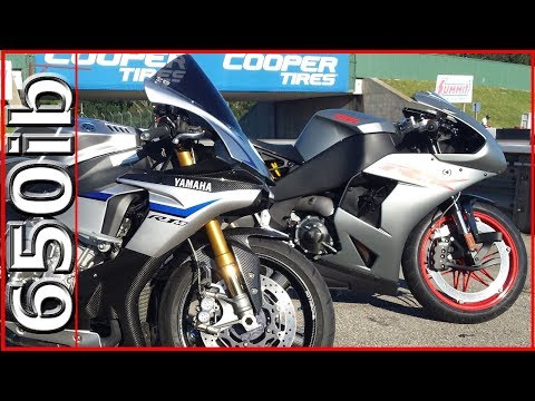 EBR 1190RX Vs Yamaha R1M @ The TRACK!